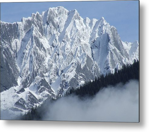Rocky Metal Print featuring the photograph Frozen In Time by Tiffany Vest