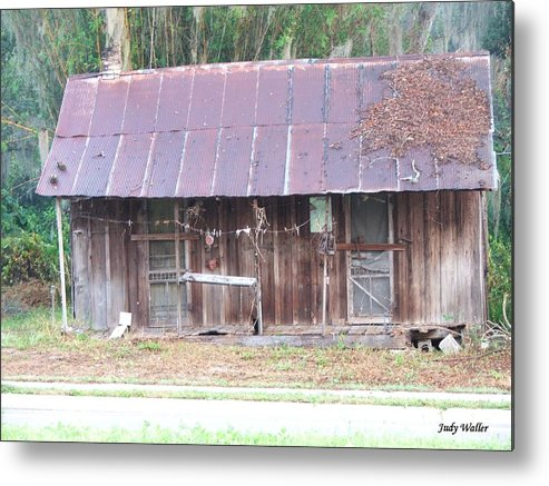 Old Metal Print featuring the photograph Grandma by Judy Waller