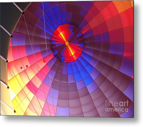 Hot Air Metal Print featuring the photograph Hot Air by Kenneth Hess