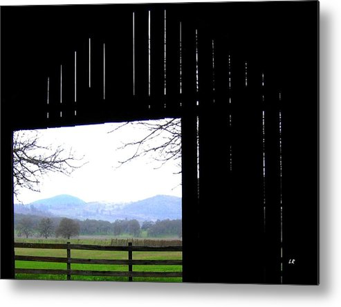 Barn Metal Print featuring the photograph Inside Out by Will Borden