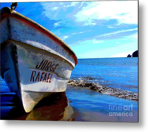 Michael Fitzpatrick Metal Print featuring the photograph Jorge Rafael by Michael Fitzpatrick by Mexicolors Art Photography