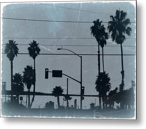 Baywatch Metal Print featuring the photograph Los Angeles by Naxart Studio