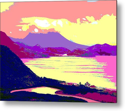 Nevis Metal Print featuring the photograph Nevis From the Penninsula by Ian MacDonald