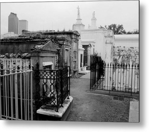 New Orleans Metal Print featuring the photograph Old And New by Linda Kish