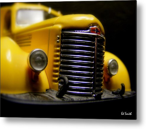Old Work Horse Metal Print featuring the photograph Old Work Horse by Edward Smith