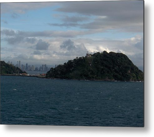 Landscape Metal Print featuring the photograph Panama City by Janet Hall