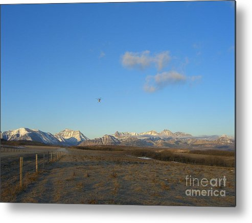 Rockies Metal Print featuring the photograph Rocky Mountain High by Jim Thomson