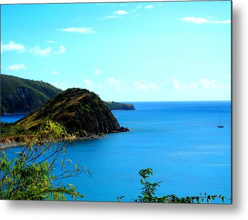 St Kitts Metal Print featuring the photograph Safe Harbor by Ian MacDonald
