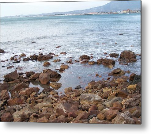 Seascape Metal Print featuring the photograph Seascape by Vijay Sharon Govender