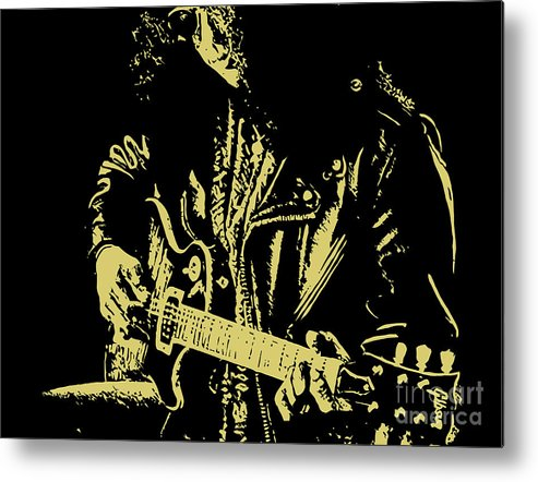 Slash Metal Print featuring the digital art Slash N.02 by Geek N Rock