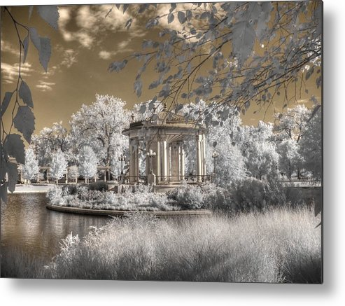 The Muny Metal Print featuring the photograph The Muny by Jane Linders