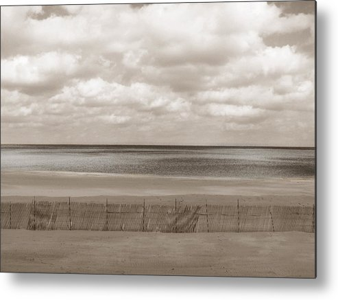 Ocean Metal Print featuring the photograph The Perfect Sky Is Torn by Dana DiPasquale