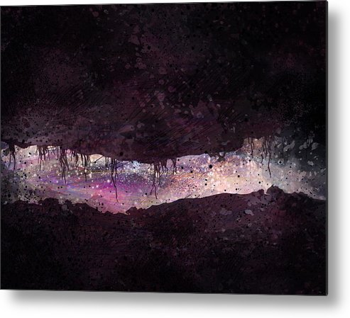 Tunnel Metal Print featuring the digital art The Tunnel by William Russell Nowicki