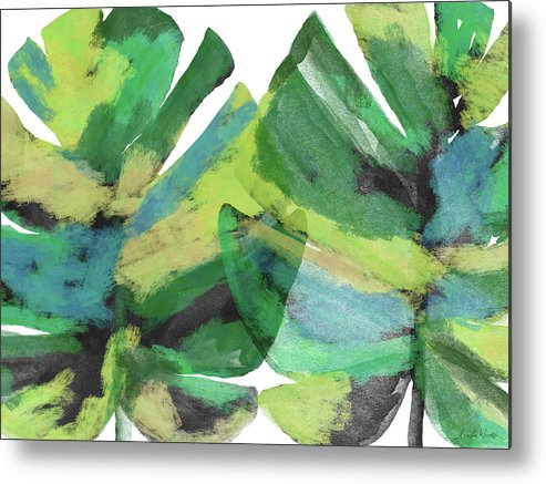 Tropical Metal Print featuring the mixed media Tropical Dreams 1- Art by Linda Woods by Linda Woods