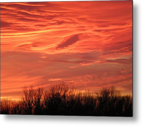 Sunset Metal Print featuring the photograph Who Needs Jupiter by Gale Cochran-Smith