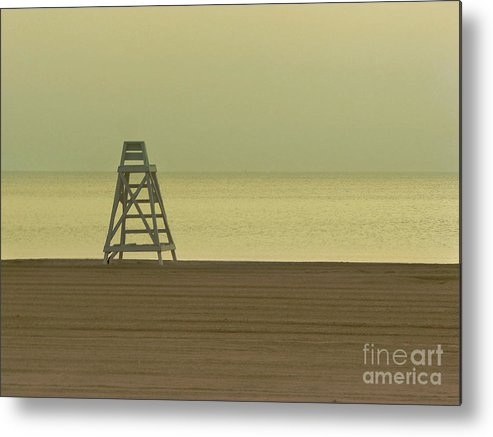 Beach Metal Print featuring the photograph Will You Lay Here With Me and Just Forget the World by Dana DiPasquale