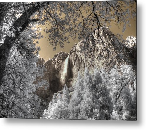 Yosemite Metal Print featuring the photograph Yosemite Waterfall by Jane Linders