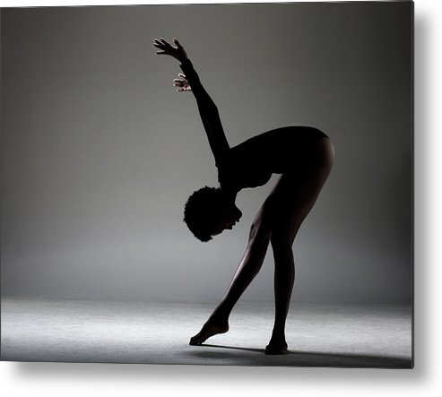 Human Arm Metal Print featuring the photograph Dance Studio by Patrik Giardino