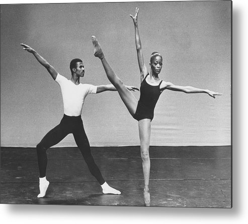 Ballet Dancer Metal Print featuring the photograph Harlem Dance Theatre by Afro Newspaper/gado