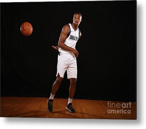 Nba Pro Basketball Metal Print featuring the photograph 2017 Nba Rookie Photo Shoot by Brian Babineau
