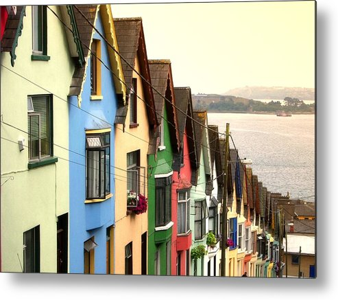 Electricity Pylon Metal Print featuring the photograph Cobh, Cork by Photo By Natale Carioni