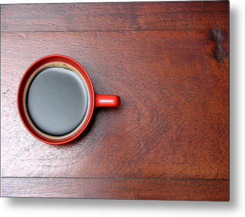 Motivation Metal Print featuring the photograph Coffee Chill Out by Fotografiabasica