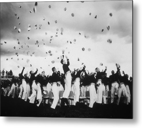 Armed Forces Metal Print featuring the photograph Graduation Day by Keystone Features