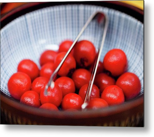 Plum Metal Print featuring the photograph Plum by Kyle Lin