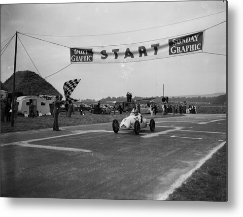 People Metal Print featuring the photograph Stirling Moss by Jimmy Sime