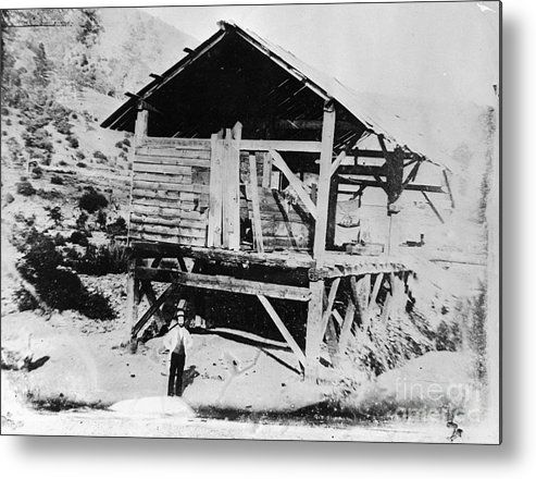 People Metal Print featuring the photograph Sutters Mill by Bettmann