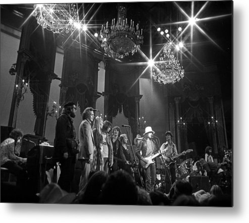 San Francisco Metal Print featuring the photograph The Last Waltz Concert by Michael Ochs Archives