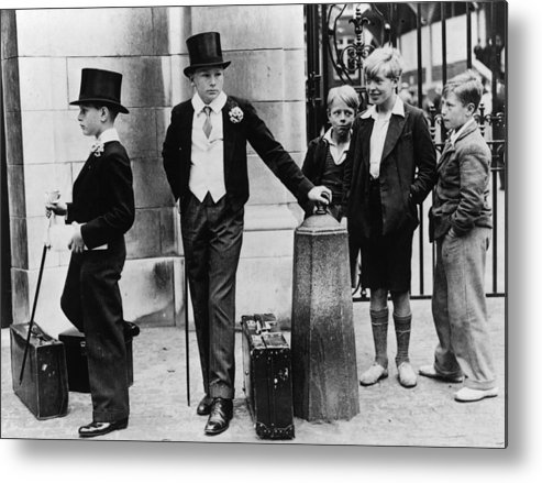 Education Metal Print featuring the photograph Toffs And Toughs by Jimmy Sime