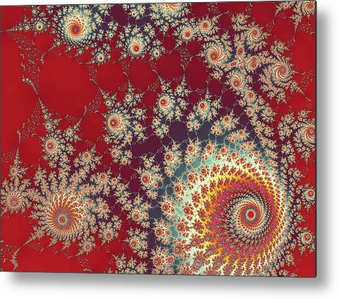 Art Metal Print featuring the digital art Unity by Ester McGuire