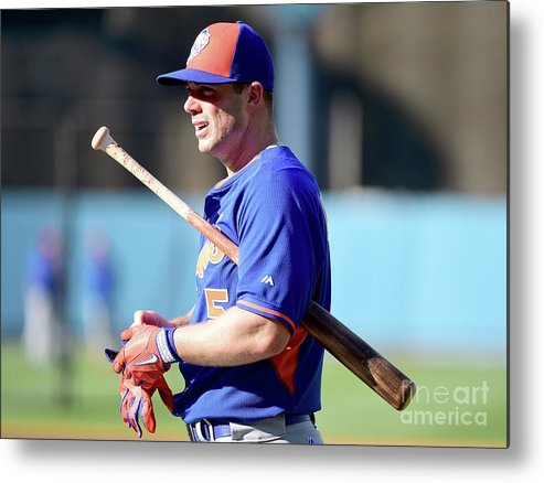 People Metal Print featuring the photograph David Wright by Harry How