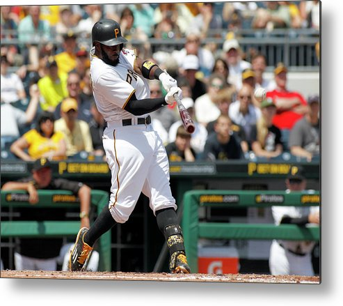 People Metal Print featuring the photograph Josh Harrison by Justin K. Aller
