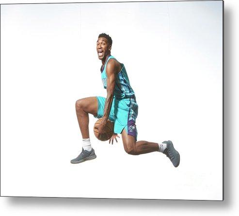 Nba Pro Basketball Metal Print featuring the photograph Malik Monk by Nathaniel S. Butler