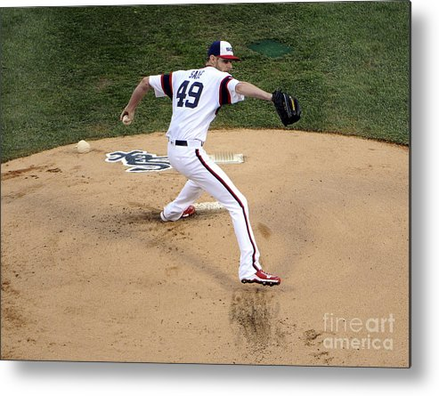 People Metal Print featuring the photograph Chris Sale by David Banks