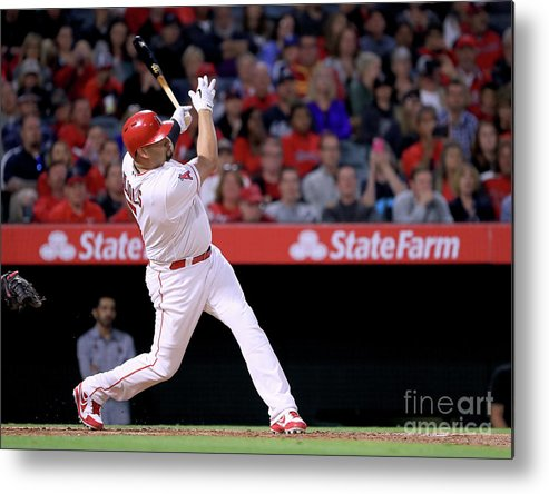 People Metal Print featuring the photograph Albert Pujols by Harry How