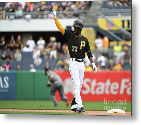 People Metal Print featuring the photograph Andrew Mccutchen by Justin Berl