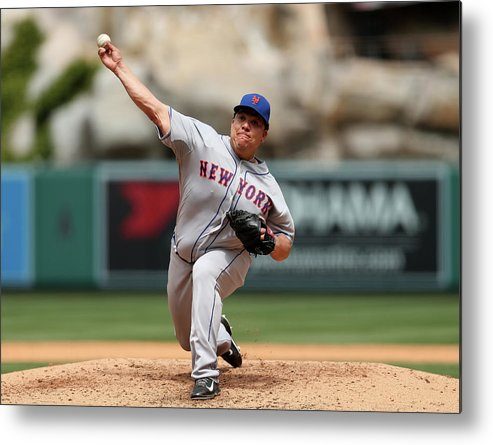People Metal Print featuring the photograph Bartolo Colon by Stephen Dunn