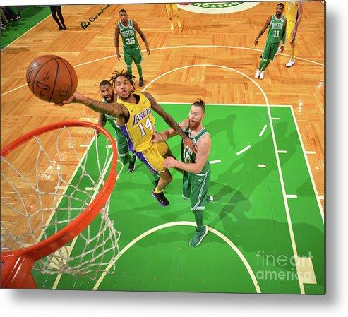 Nba Pro Basketball Metal Print featuring the photograph Brandon Ingram by Jesse D. Garrabrant