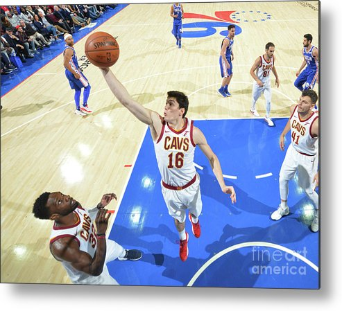 Nba Pro Basketball Metal Print featuring the photograph Cedi Osman by Jesse D. Garrabrant