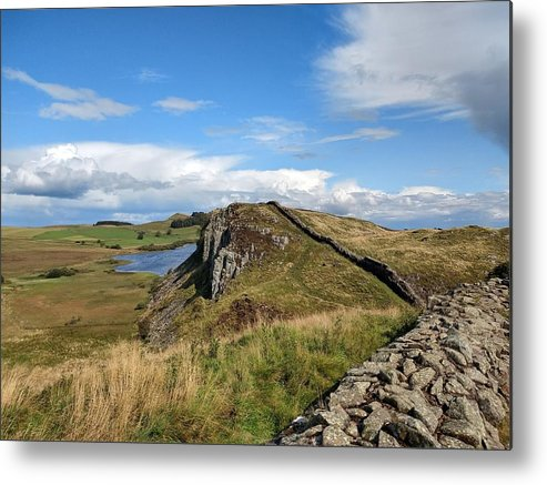 Landscape Metal Print featuring the photograph Hadrianswall by Pop