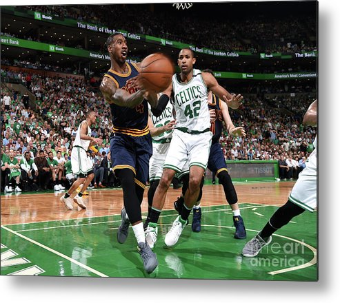 Playoffs Metal Print featuring the photograph Iman Shumpert by Brian Babineau