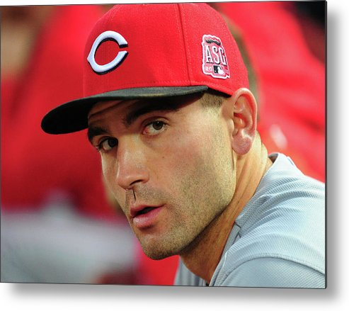 Atlanta Metal Print featuring the photograph Joey Votto by Scott Cunningham