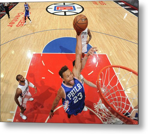Nba Pro Basketball Metal Print featuring the photograph Justin Anderson by Andrew D. Bernstein