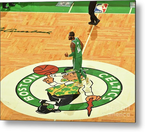 Nba Pro Basketball Metal Print featuring the photograph Kyrie Irving by Jesse D. Garrabrant