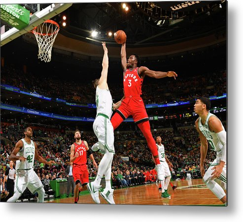 Nba Pro Basketball Metal Print featuring the photograph Og Anunoby by Jesse D. Garrabrant