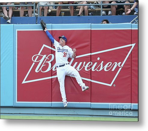 Salvador Perez Diaz Metal Print featuring the photograph Salvador Perez by Stephen Dunn