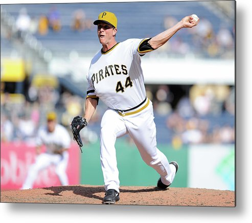 Pnc Park Metal Print featuring the photograph Tony Watson by Joe Sargent
